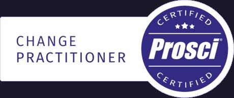 Certified Prosci Practitioner