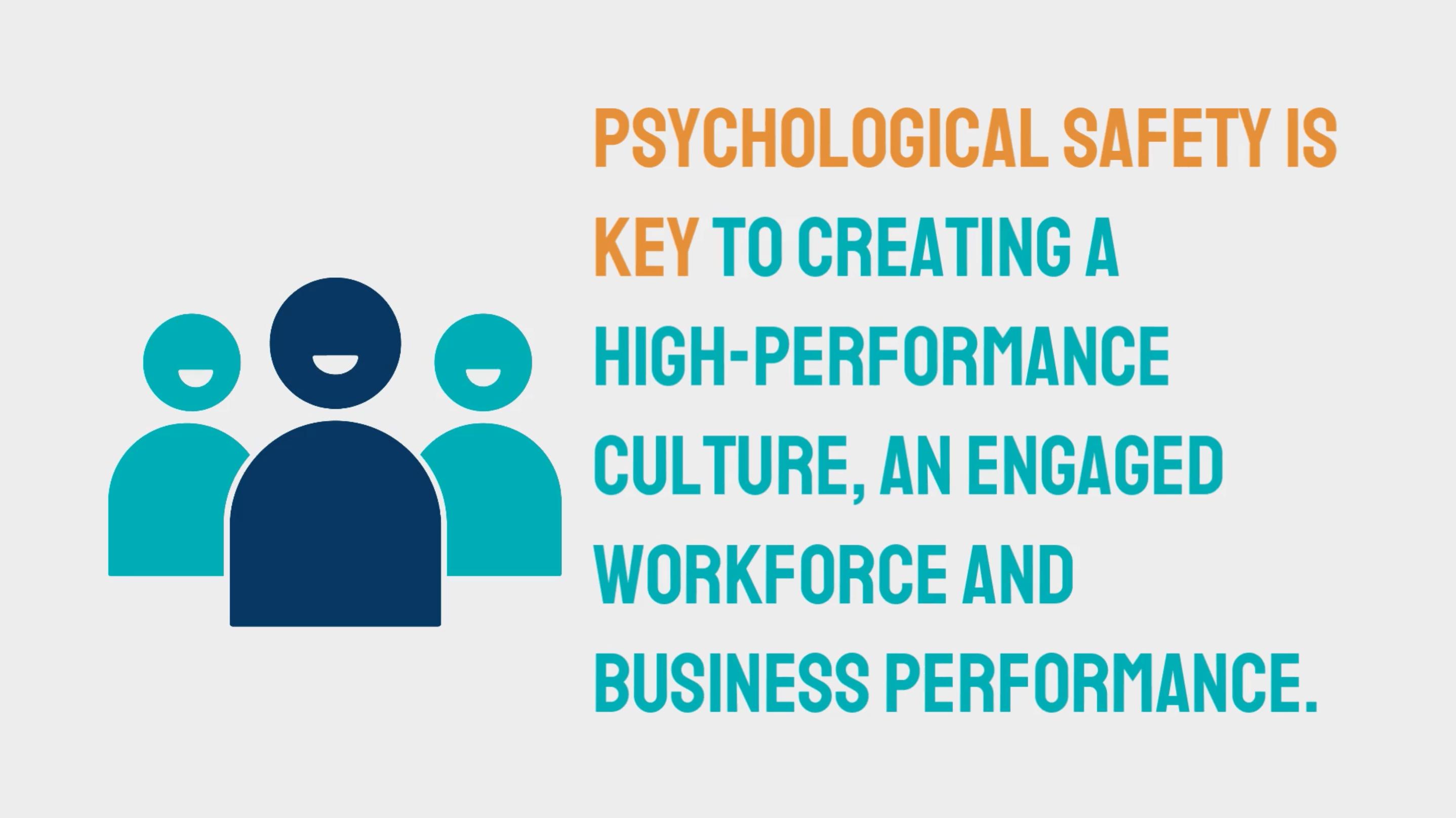 Psychological Safe Environments